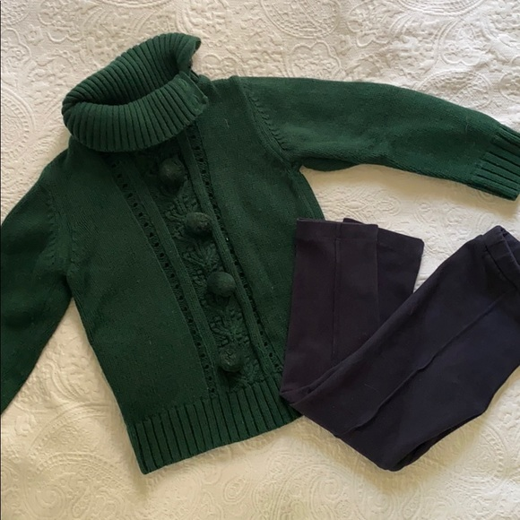 NWT Mayoral Baby Boys Hunter Green Sweater